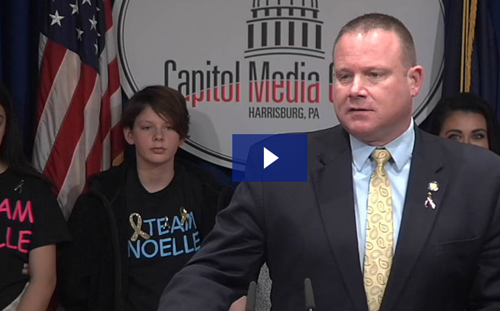 Martin Hosts Capitol Event Highlighting Bipartisan Efforts to Fight Pediatric Cancer